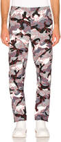 Valentino Trousers in Grey & Red Camo   FWRD