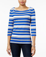 Tommy Hilfiger Ansley Boat-Neck Top