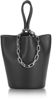 Alexander Wang Roxy Mini Black Leather Bucket Bag