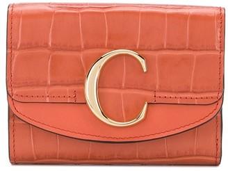 Chloé C small tri-fold wallet