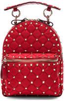 Valentino Mini Rockstud Spike Nylon Backpack