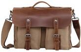 Thumbnail for your product : TSD BRAND Hudson Canvas Messenger Bag