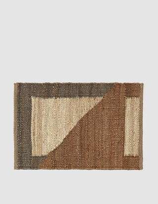 Living Textiles Tantuvi 2 x 3 ft. No. 7 Hemp Rug in Sand