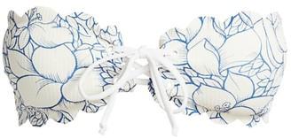 Marysia Swim Antibes Lace-Up Bikini Top