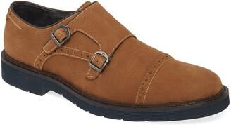 Johnston & Murphy Kinley Double Monk Strap Shoe