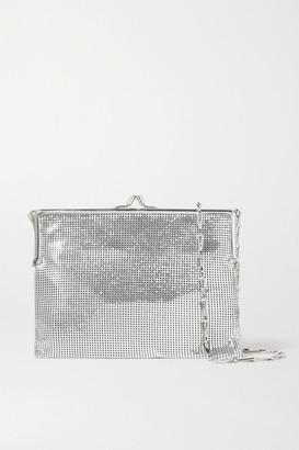 Paco Rabanne Pixel Frame 1969 Chainmail Shoulder Bag - Silver