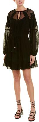 Love Sam Lace Yoke A-Line Dress