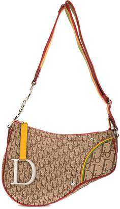 Christian Dior pre-owned Rasta saddle bag
