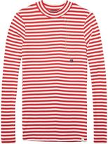 Scotch & Soda Crew Neck Long Sleeve Top