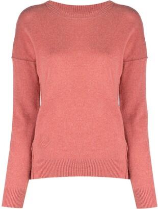 Zadig & Voltaire Cici elbow-patch cashmere jumper