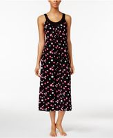 Alfani U-Neck Printed Knit Nightgown, Created for Macy's