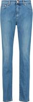 See by Chloe Mid-rise slim-leg jeans