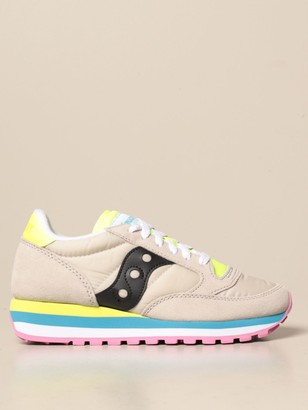 Saucony Jazz Triple Sneakers In Synthetic Leather And Nylon