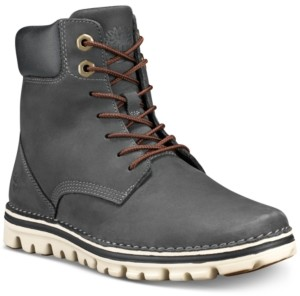 Timberland Women's Brookton Lace-Up Leather Boots, Created for Macy's Women's Shoes