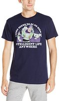 """Disney Men's Buzz Lightyear """"There Seems to Be No Sign of Intelligent Life Anywhere""""T-Shirt"""