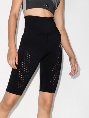 adidas by Stella McCartney Logo-Print Cycling Shorts