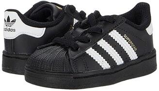 Adidas Originals Kids Superstar EL (Infant/Toddler) (Black/White/Black) Kids Shoes