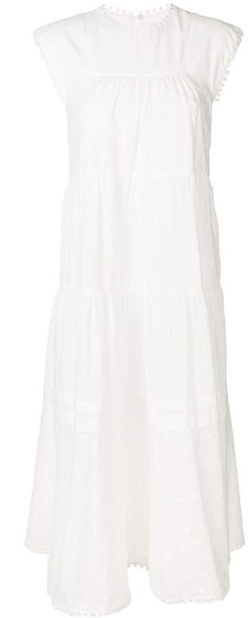 See by Chloe sleeveless tiered dress