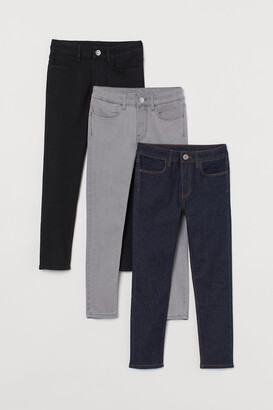 H&M 3-pack Skinny Fit Jeans