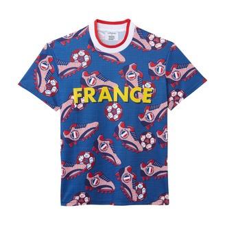 La Redoute Maison Chateau Rouge X Crew Neck Short-Sleeved T-Shirt