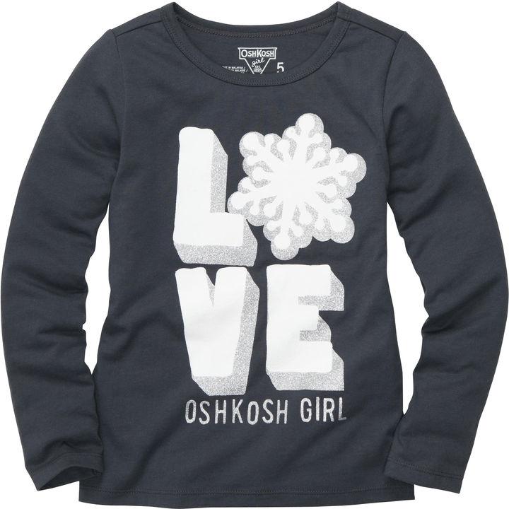 Osh Kosh Long-Sleeve OshKosh Originals Graphic Tee