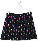 Armani Junior embroidered mini skirt