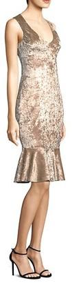 LIKELY Cypress Velvet Sheath Dress