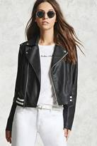 Forever 21 Faux Leather Moto Jacket