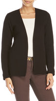 Scotch & Soda Ribbed Open Front Cardigan