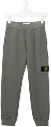 Stone Island Junior Logo Sweat Pants