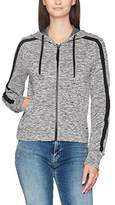 Calvin Klein Jeans Women's Hava Logo Hooded Zip Through Hoodie