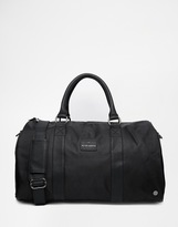 Peter Werth Nylon Holdall In Black