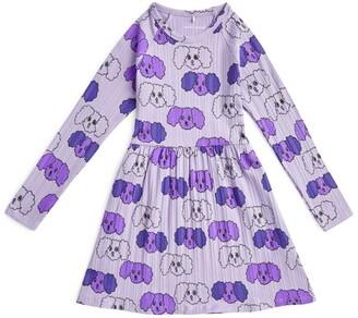 Mini Rodini Fluffy Dog Print Dress (1.5-11 Years)