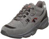 Propet Men's M2034 Stability Walker Sneaker,Grey/Black Nubuck,10.5 XX (US Men's 10 EEEEE)