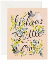 Rifle Paper Co. Welcome Baby Card