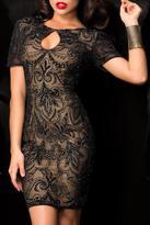Scala Sequin Cocktail Dress
