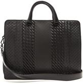 Bottega Veneta Intrecciato Imperatore leather briefcase