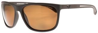 Giorgio Armani Emporio EA4078 Sunglasses Brown