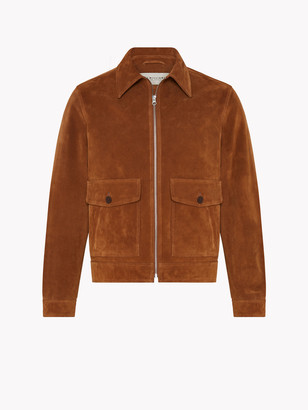 R.M. Williams Blouson Zip Suede Jacket