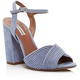 Tabitha Simmons Women's Kali Crisscross Block-Heel Sandals