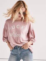 Lucky Brand Spliced Pullover.