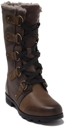 Sorel Emelie Lace-Up Waterproof Faux Fur Lined Boot