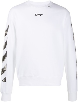 Off-White Caravaggio print sweatshirt