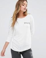 Jack Wills Fernhill Raglan Long Sleeve T-Shirt