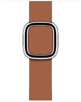 Apple 40mm Saddle Brown Modern Buckle - Small