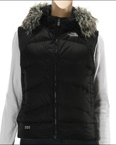 The North Face - Women's Vegas Vest 09 (Black (Grey Faux Fur))