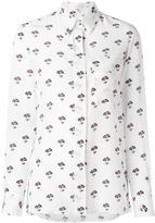 Victoria Beckham daisy print shirt - women - Silk - 8
