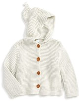 Nordstrom Infant Girl's Organic Cotton Hooded Cardigan