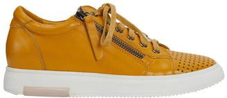 Jane Debster Carson Mustard Nappa Sneaker