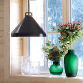 Authentics UK Handle Pendant Lamp, Wide, Black